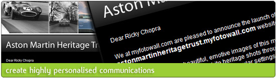 Create highly personalised communications